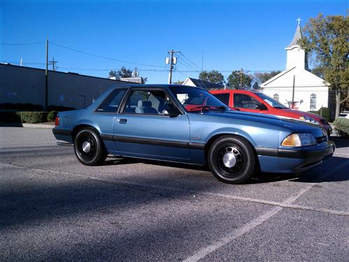 Timothy meyers' 1989 Ford Mustang SSP LX 5.0