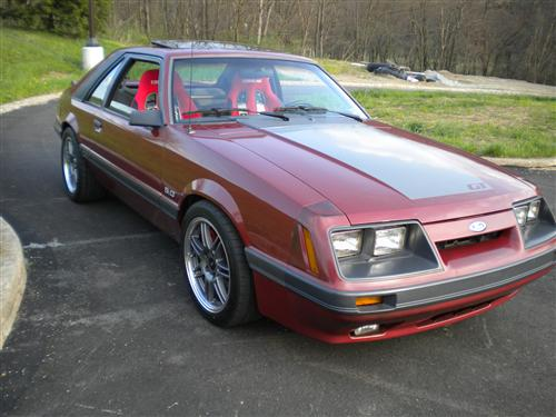 Tod Beagle's 1985 Ford Mustang GT
