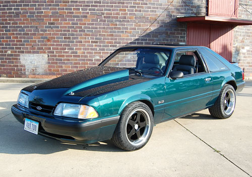 Todd Eichelberger's 1991 Ford Mustang LX