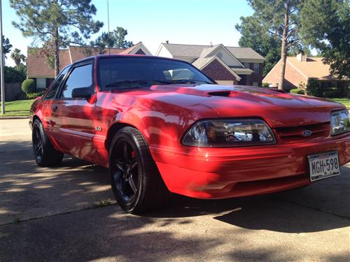 Todd Woolson's 1993 Mustang LX Notchback