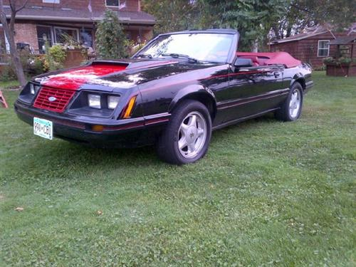 Tom Herrick's 1983 Ford Mustang