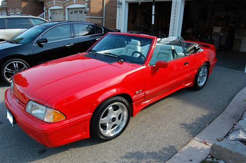 1992 Ford  Mustang Feature Edition Convertiable - Tom Pitimada's 1992 Ford  Mustang Feature Edition Convertiable
