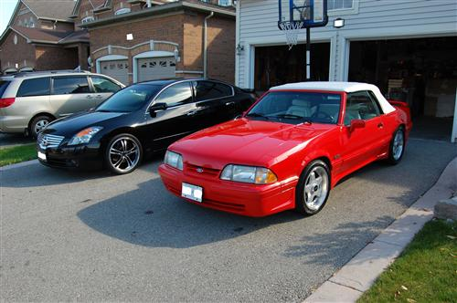 Tom Pitimada's 1992 Ford  Mustang Feature Edition Convertiable