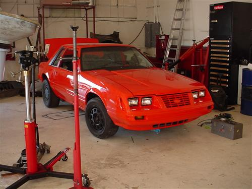 Tony Lee's 1986  Ford Mustang
