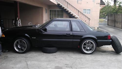 tony merida's 1993 ford mustang