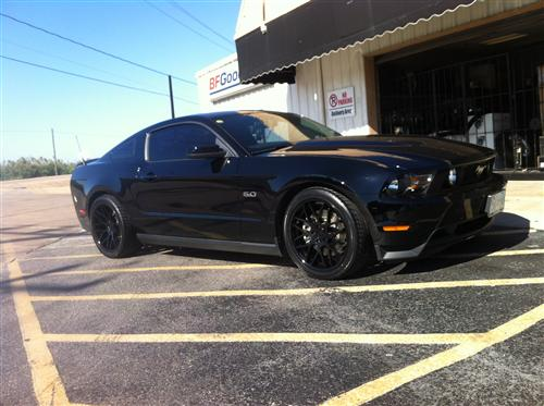 trey flores' 2012 ford  5.0 mustang