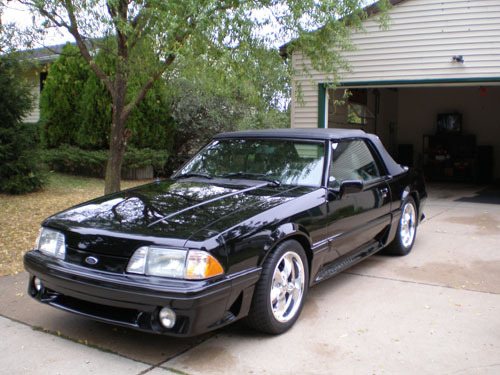 Troy Brackett's 1988 Ford Mustang GT Convertible
