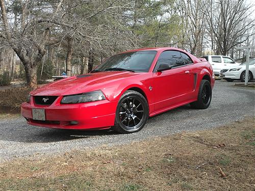 Tyler Milligan's 1999 ford mustang gt