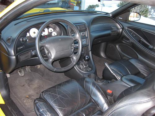 Warren Terrell's 1998 Ford mustang Cobra