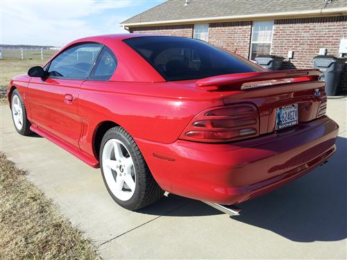 1994 Ford Mustang Cobra - Wesley Lovelace's 1994 Ford Mustang Cobra