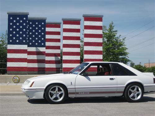 Woody  Roberts' 1984 1/2 Ford Mustang GT-350