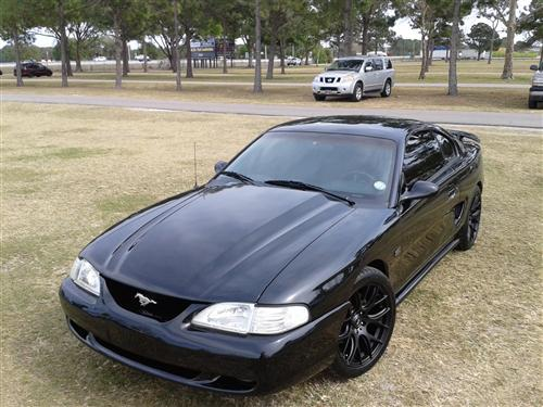 Yvonne A.K.A   EVE  Kercado's 1995 Ford  Mustang GT