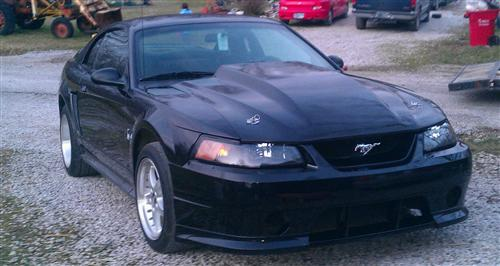 zach carrison's 1999 ford  mustang cobra
